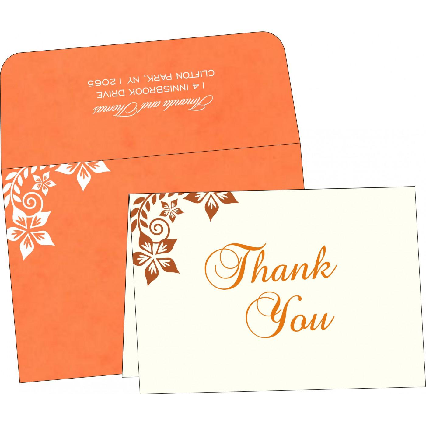 Thank You Cards : TYC-8240M - 123WeddingCards