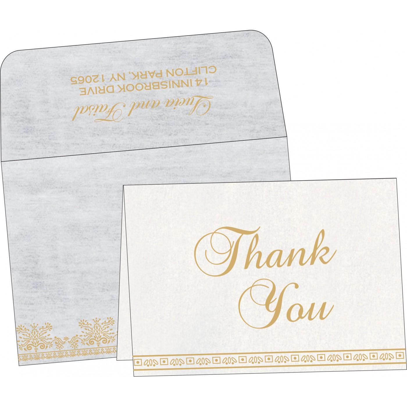 Thank You Cards : TYC-8241A - 123WeddingCards