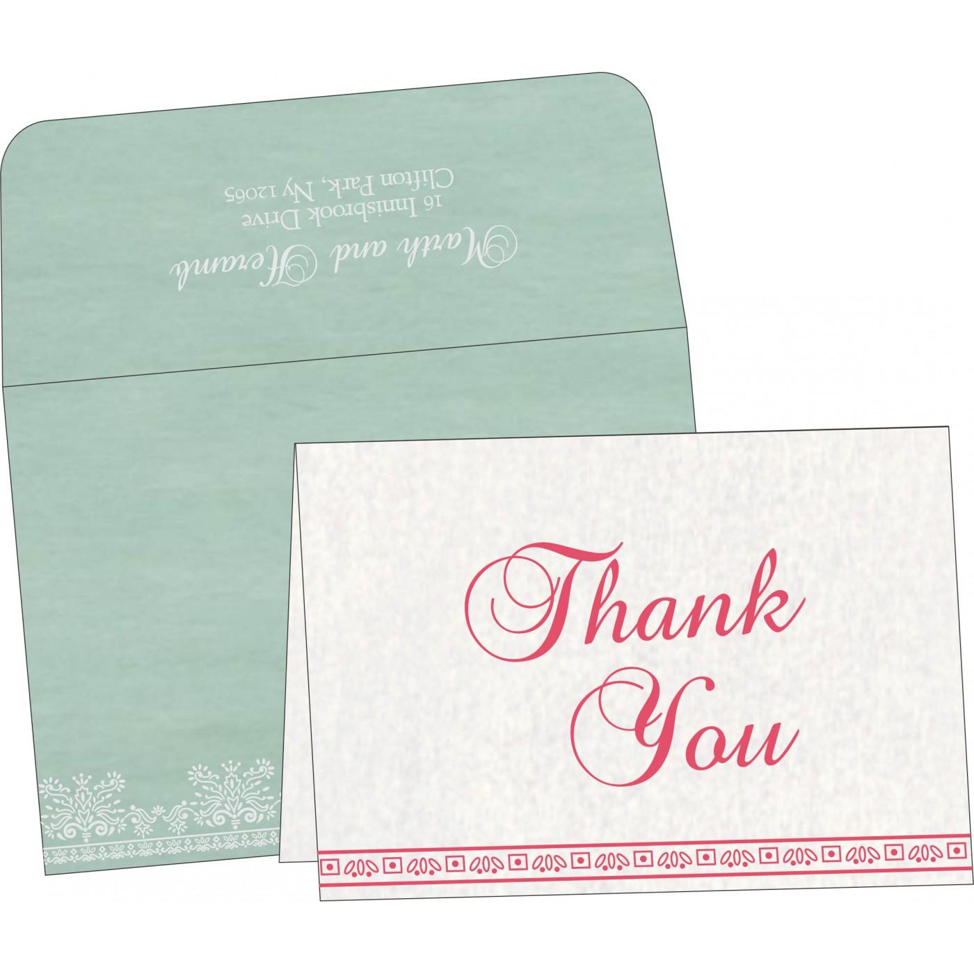 Thank You Cards : TYC-8241C - 123WeddingCards