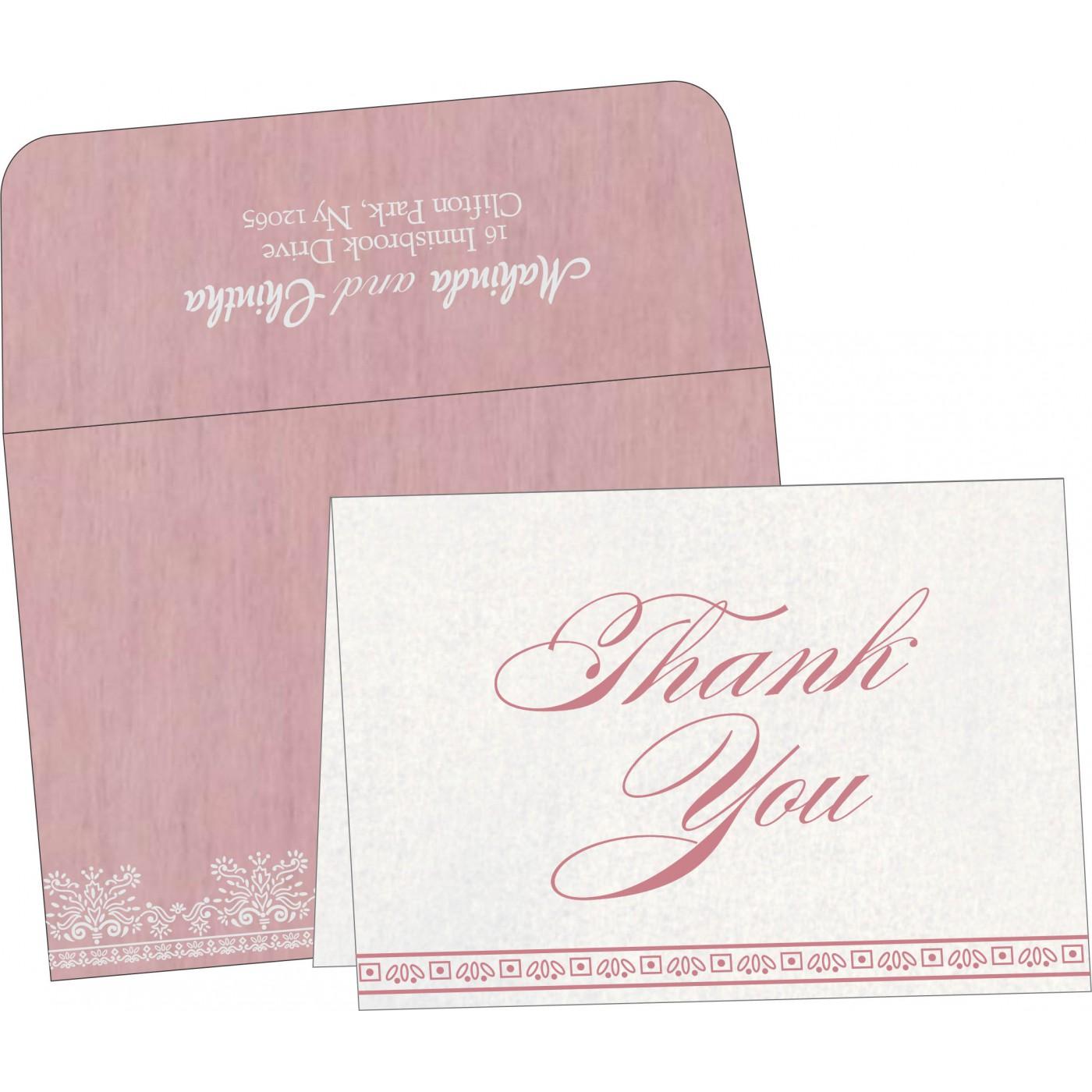 Thank You Cards : TYC-8241E - 123WeddingCards