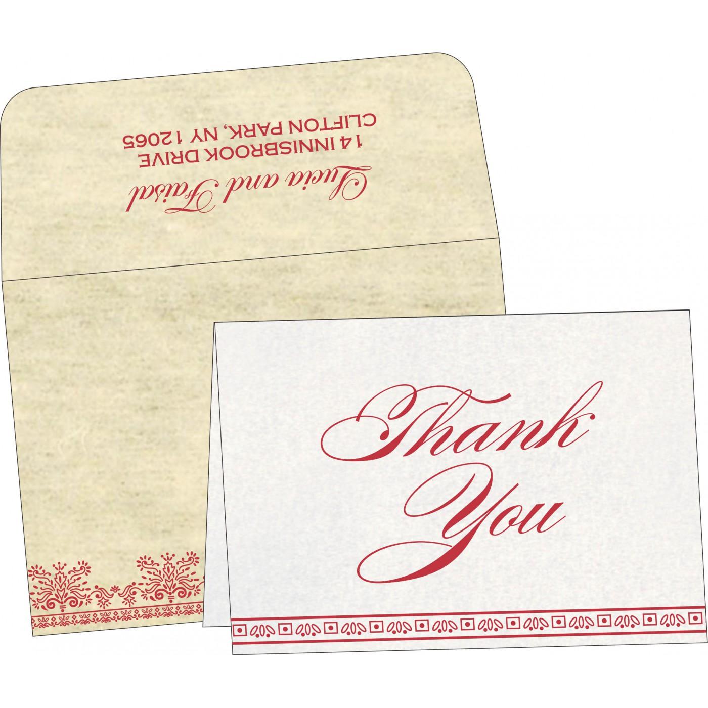 Thank You Cards : TYC-8241F - 123WeddingCards