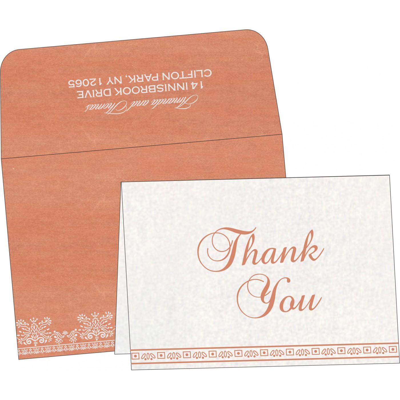 Thank You Cards : TYC-8241G - 123WeddingCards