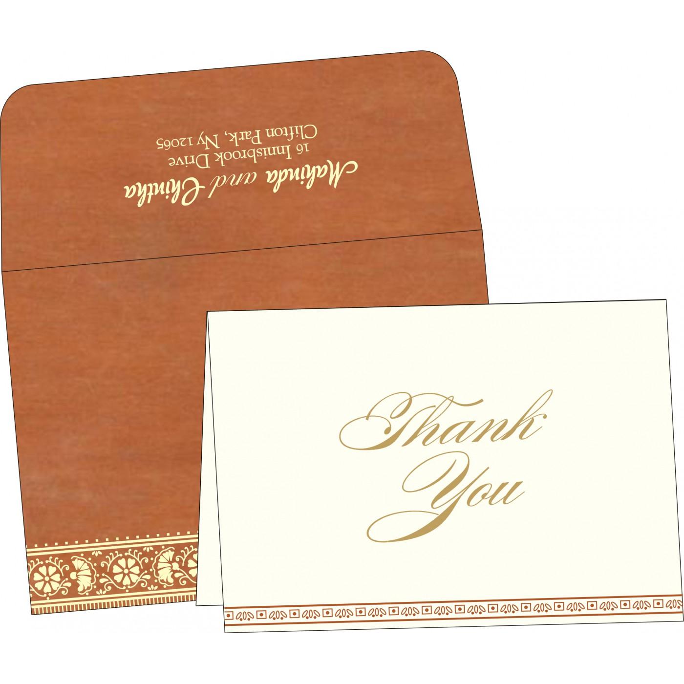 Thank You Cards : TYC-8242E - 123WeddingCards