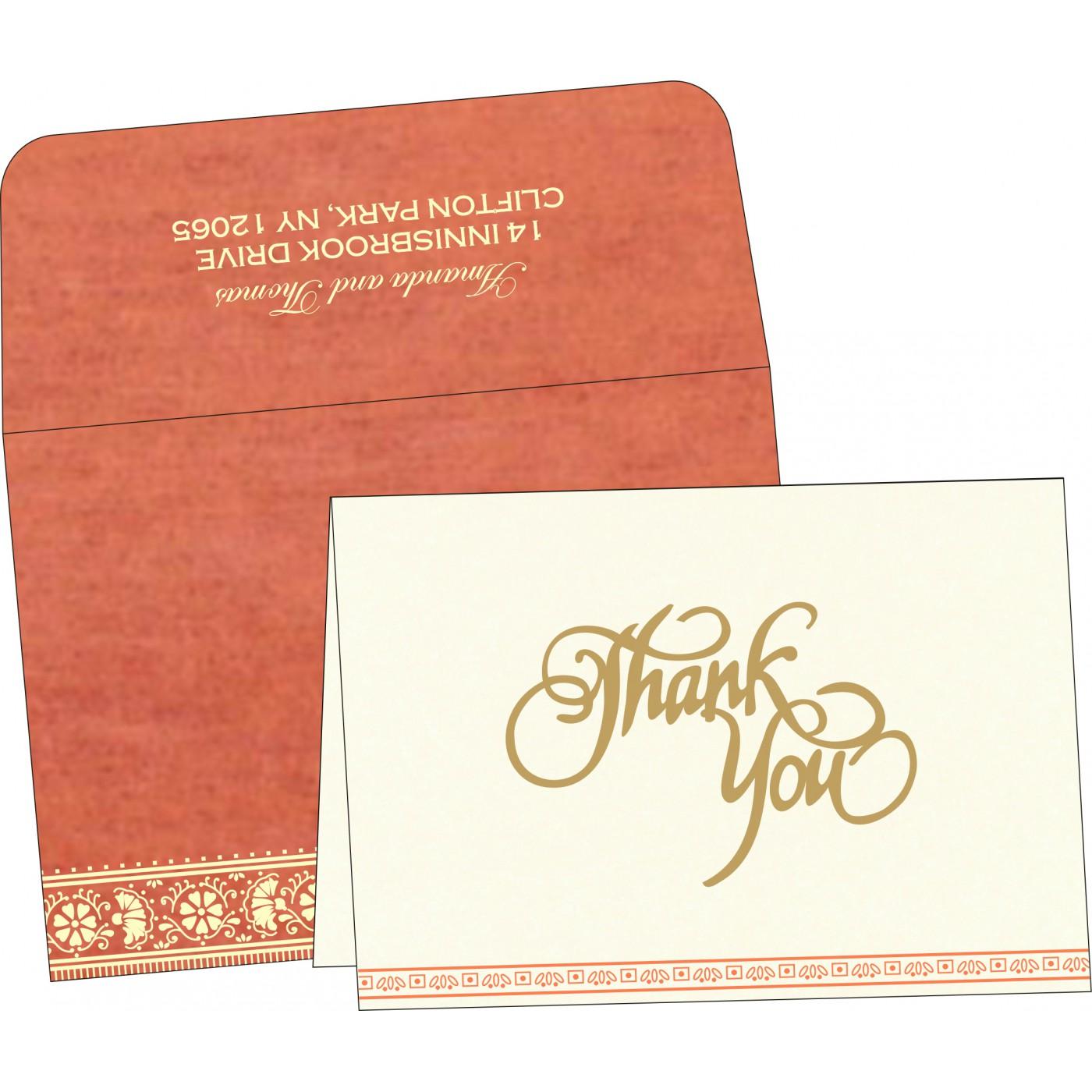 Thank You Cards : TYC-8242I - 123WeddingCards