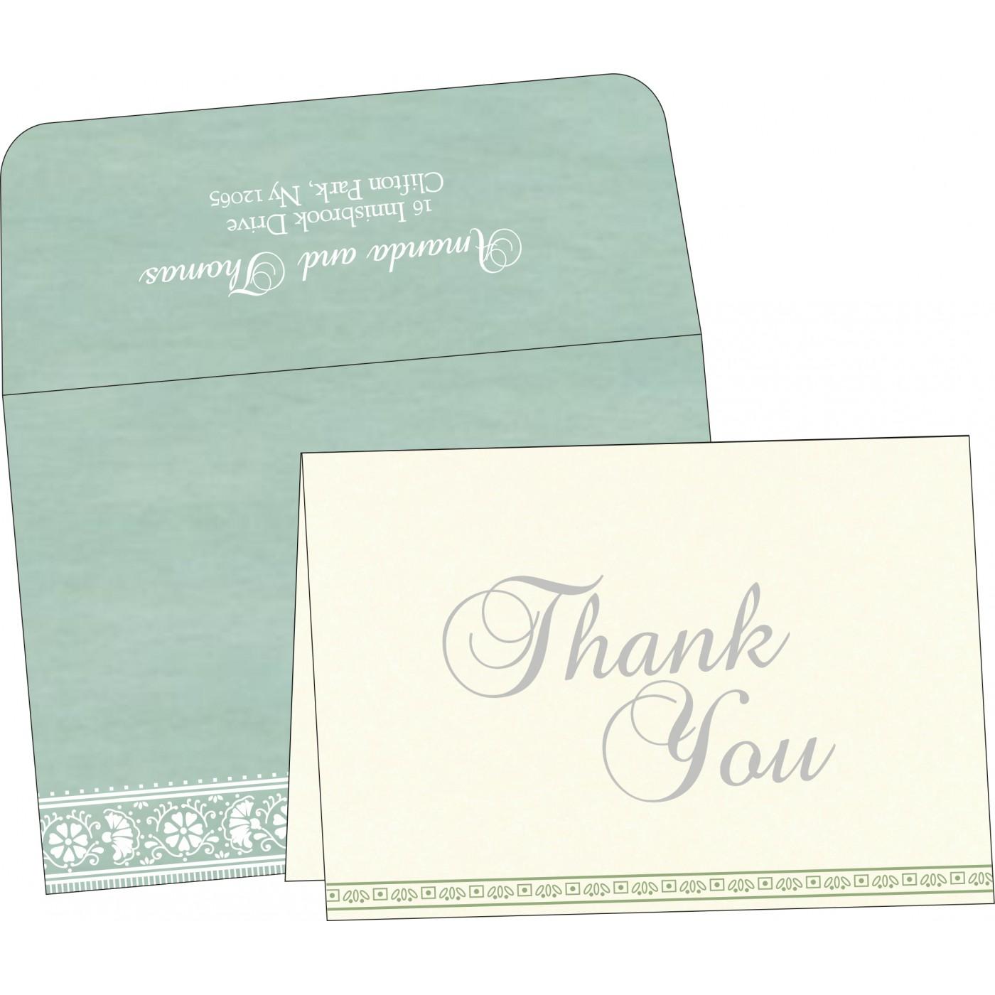 Thank You Cards : TYC-8242K - 123WeddingCards