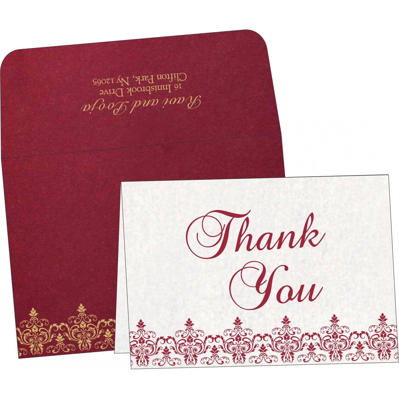 Thank You Cards : TYC-8244E - 123WeddingCards