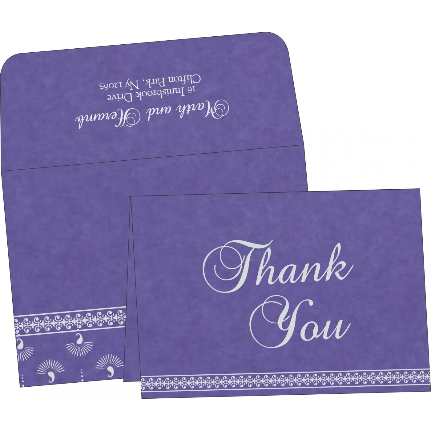 Thank You Cards : TYC-8247C - 123WeddingCards