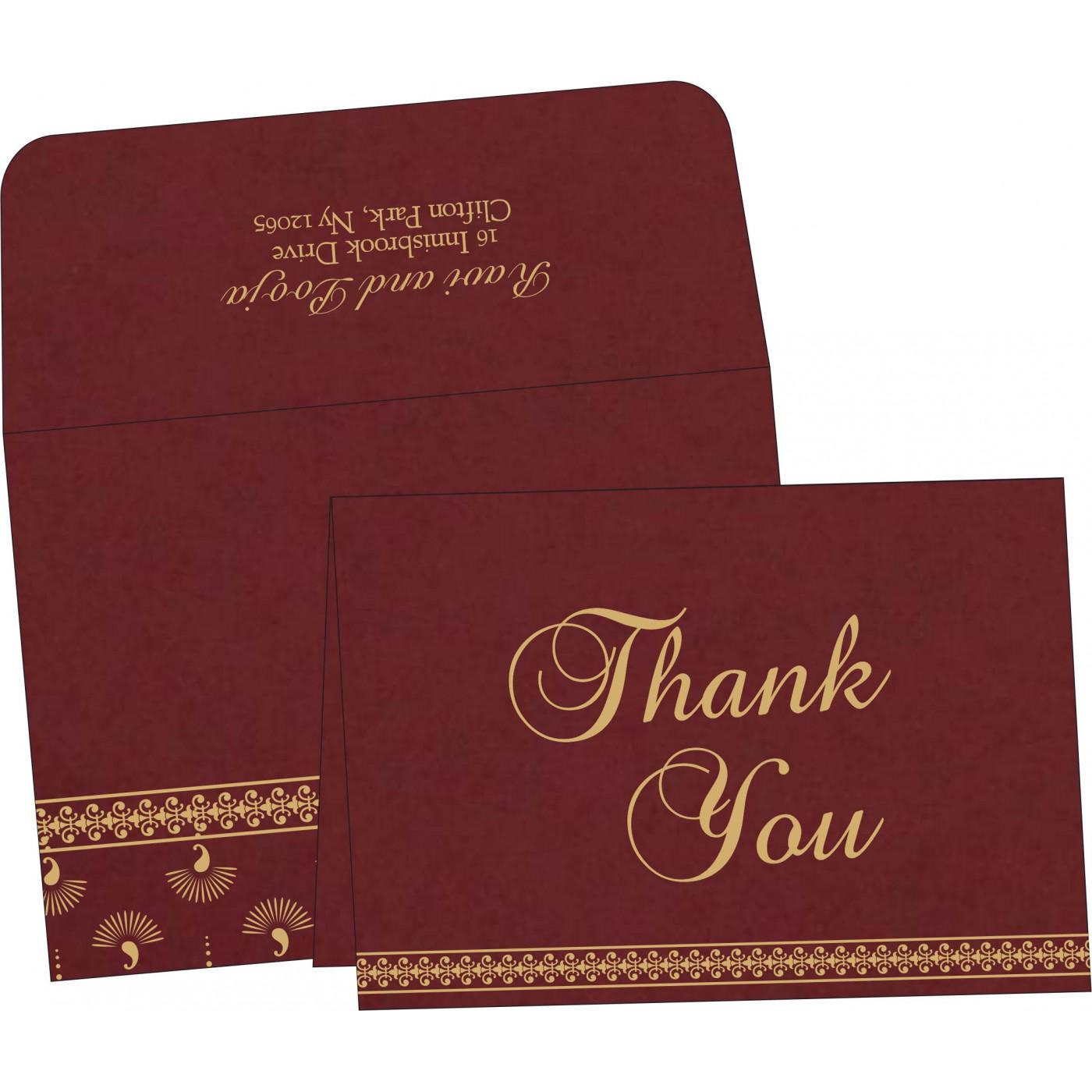 Thank You Cards : TYC-8247D - 123WeddingCards