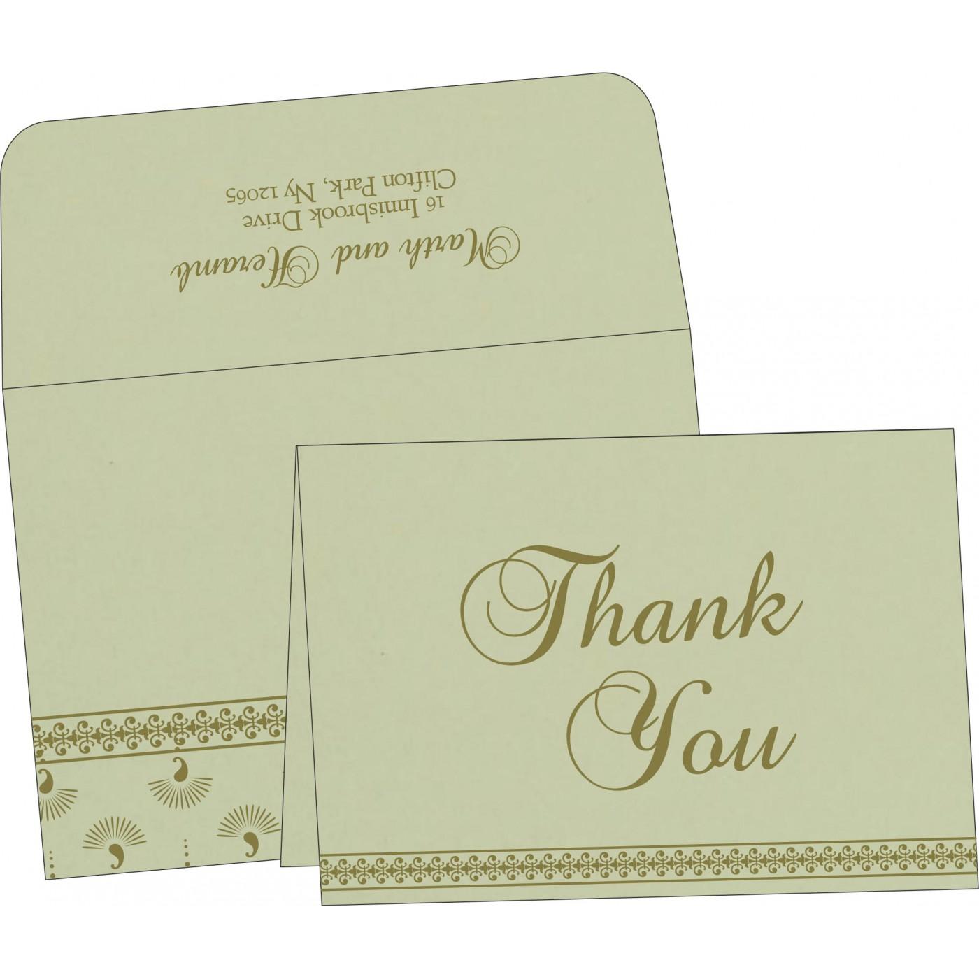 Thank You Cards : TYC-8247L - 123WeddingCards