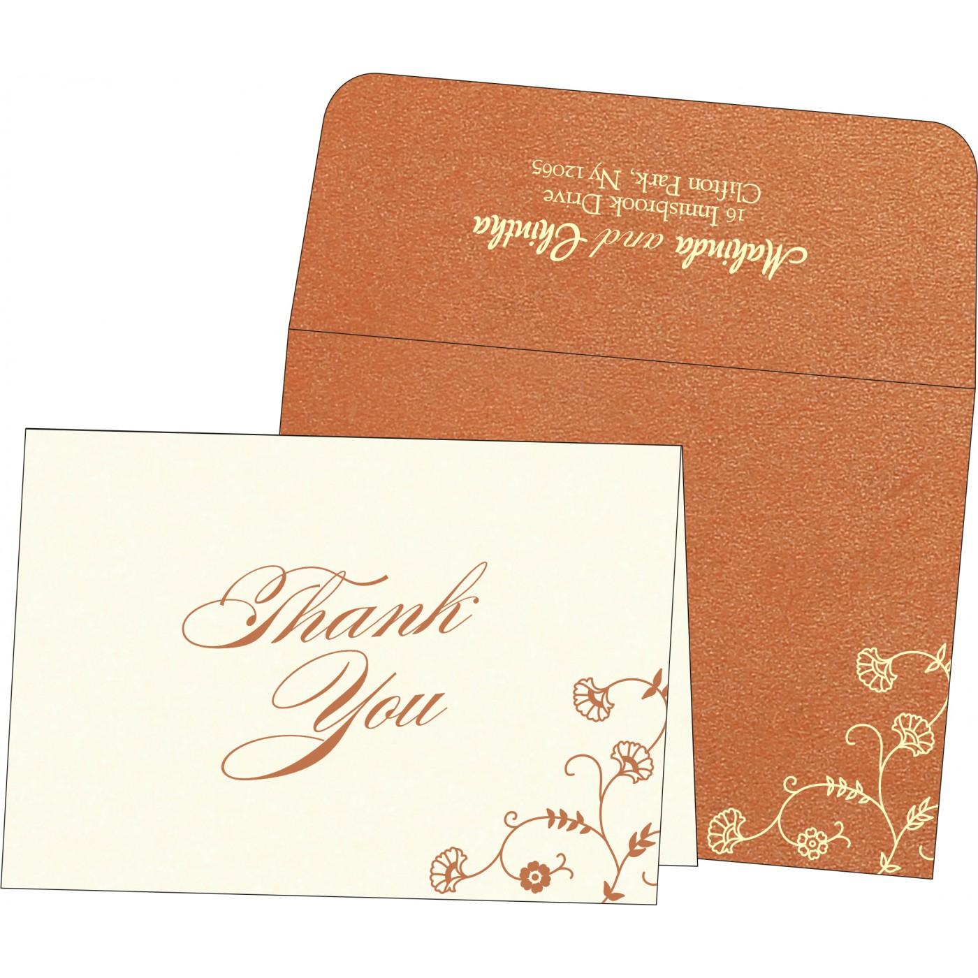 Thank You Cards : TYC-8248E - 123WeddingCards