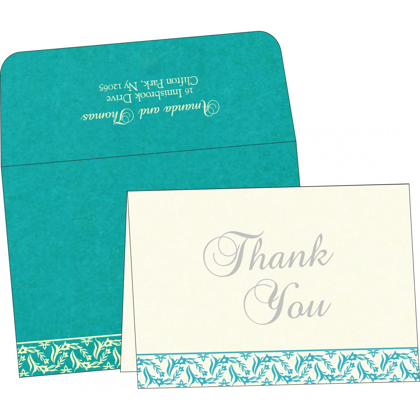 Thank You Cards : TYC-8249D - 123WeddingCards