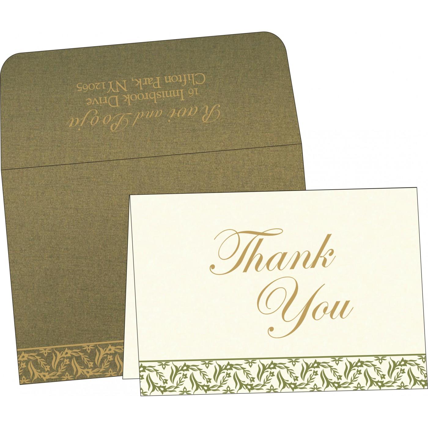Thank You Cards : TYC-8249E - 123WeddingCards