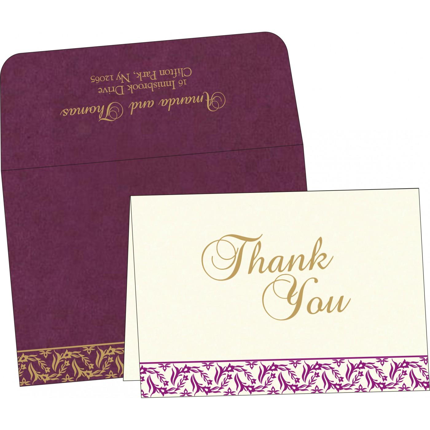 Thank You Cards : TYC-8249I - 123WeddingCards