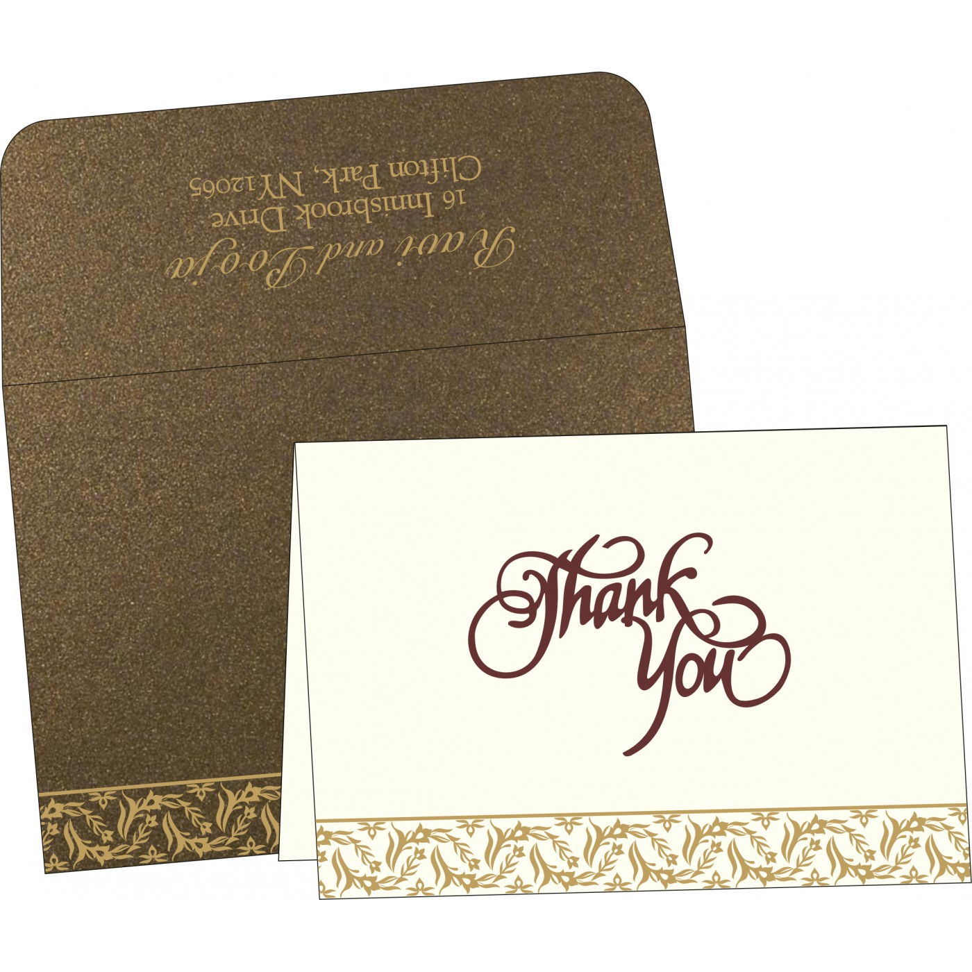Thank You Cards : TYC-8249J - 123WeddingCards