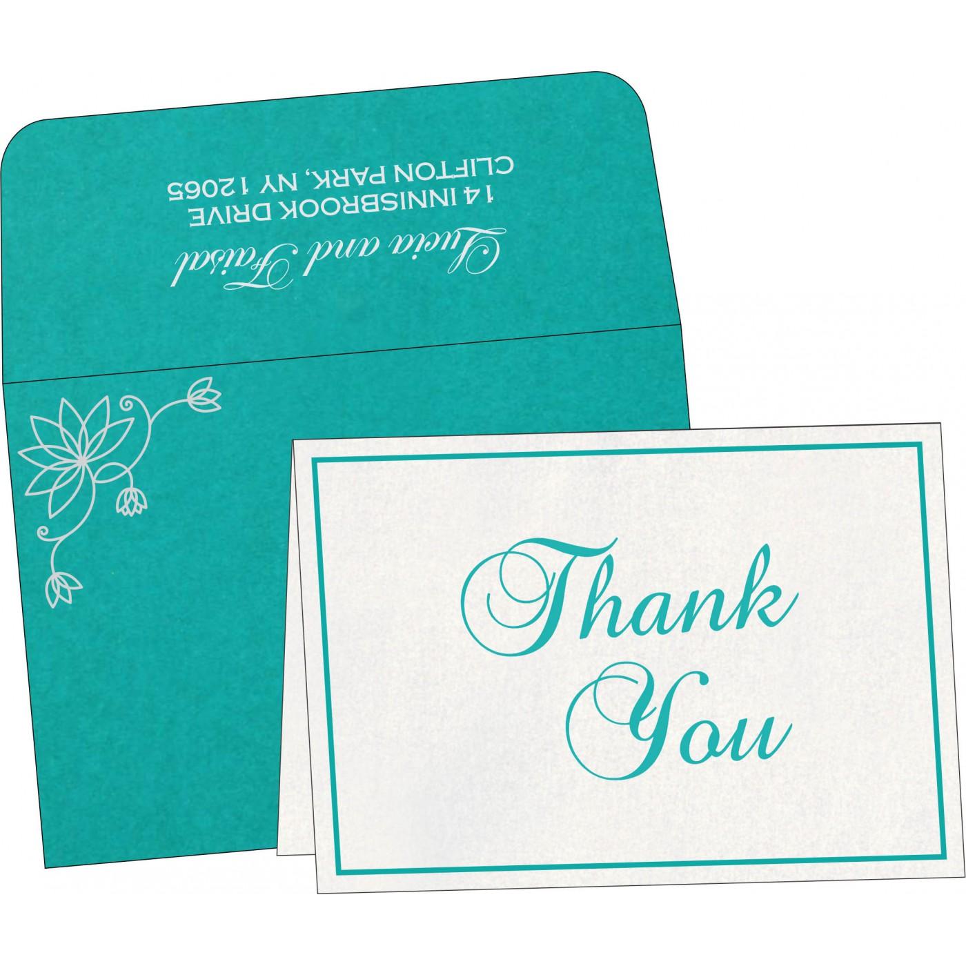 Thank You Cards : TYC-8251A - 123WeddingCards