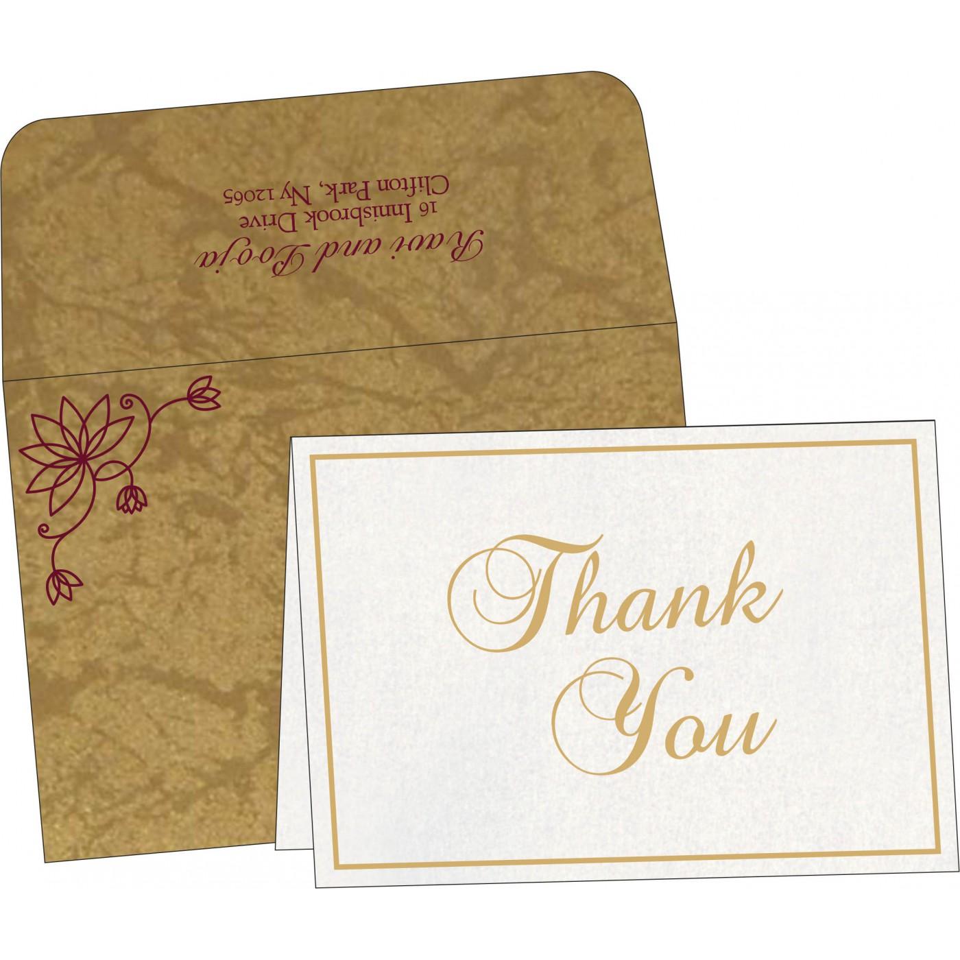 Thank You Cards : TYC-8251E - 123WeddingCards