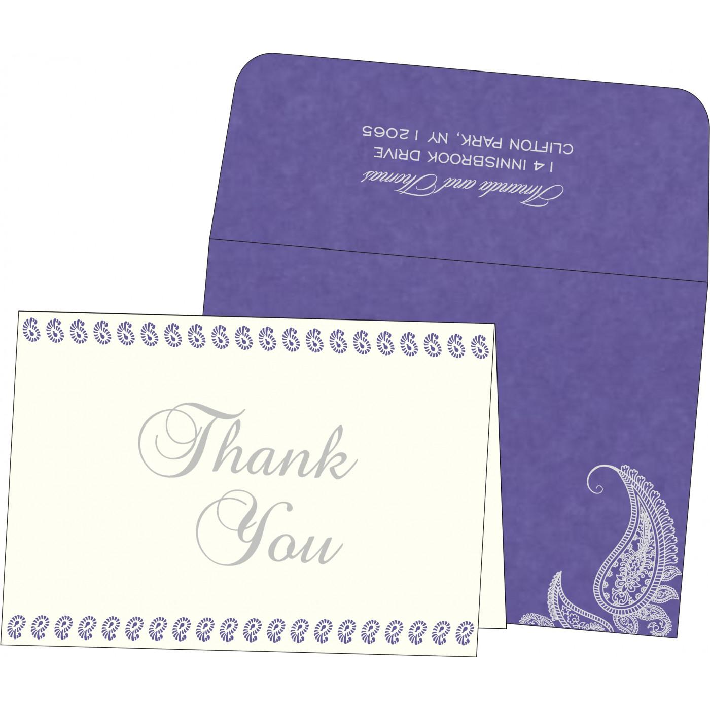 Thank You Cards : TYC-8252B - 123WeddingCards