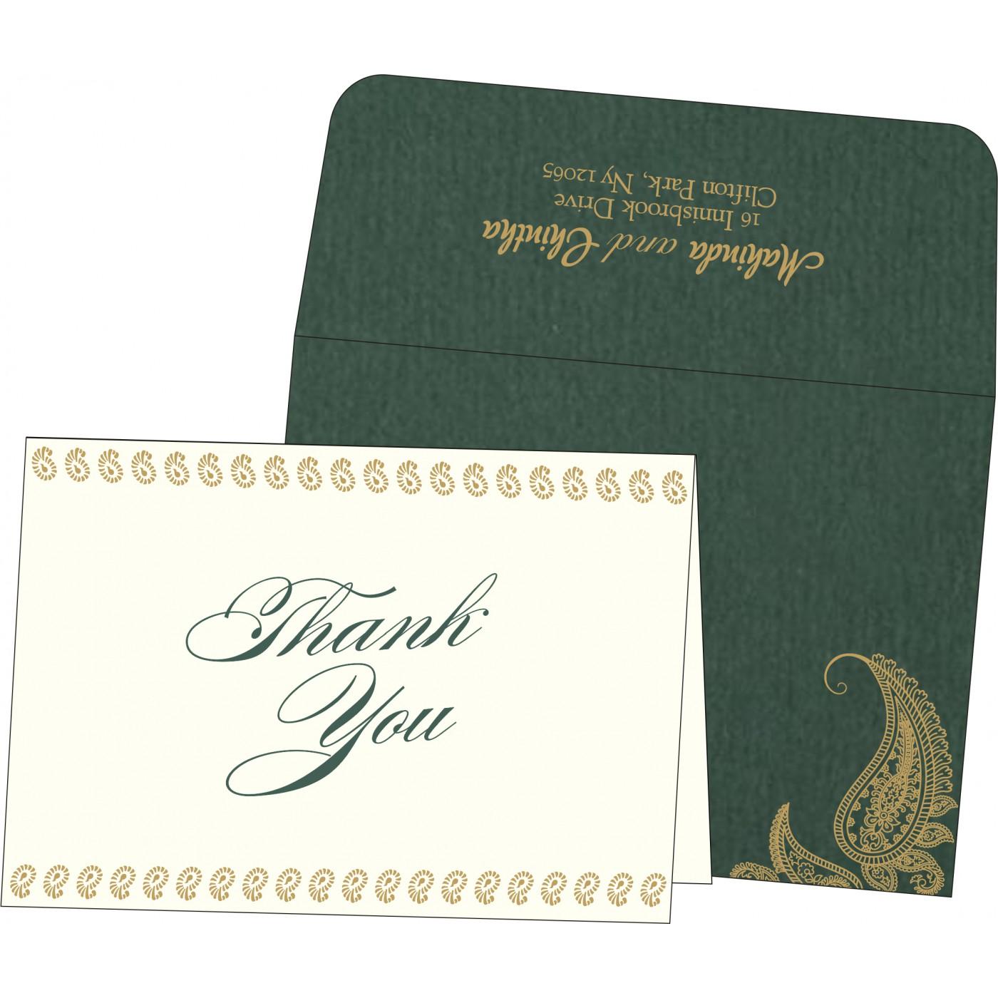 Thank You Cards : TYC-8252E - 123WeddingCards