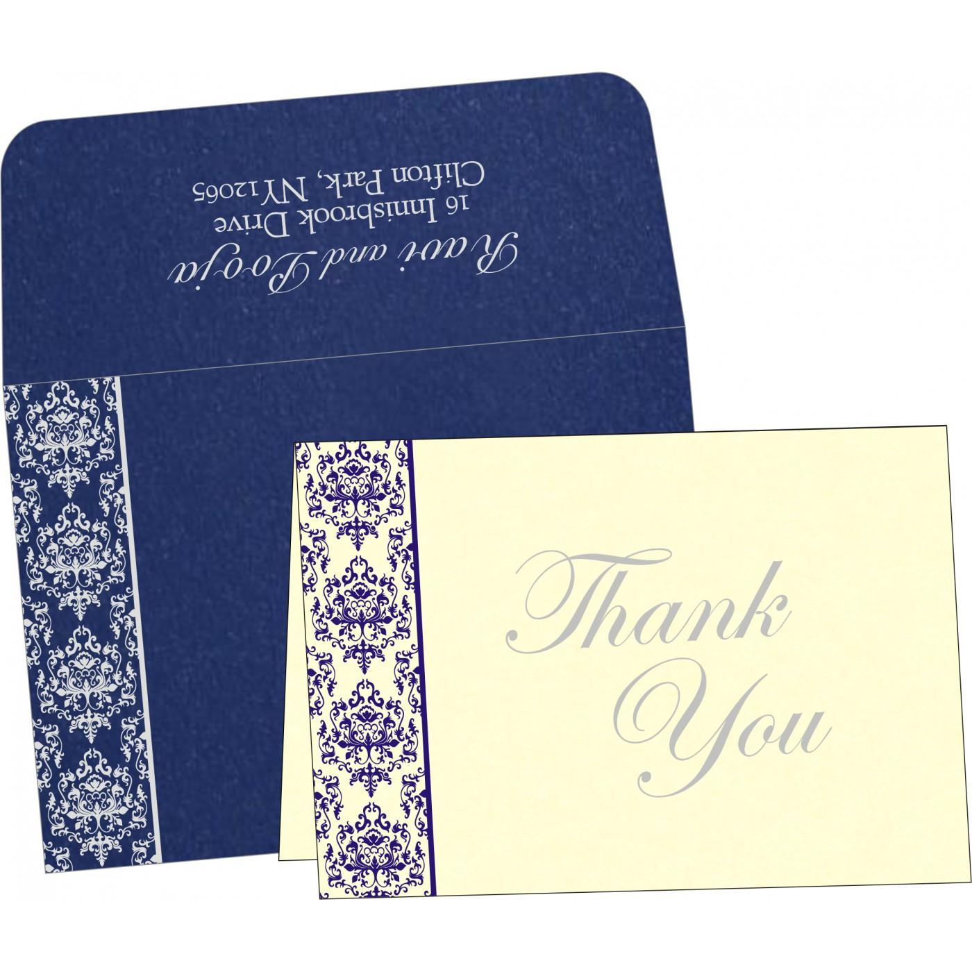 Thank You Cards : TYC-8253D - 123WeddingCards