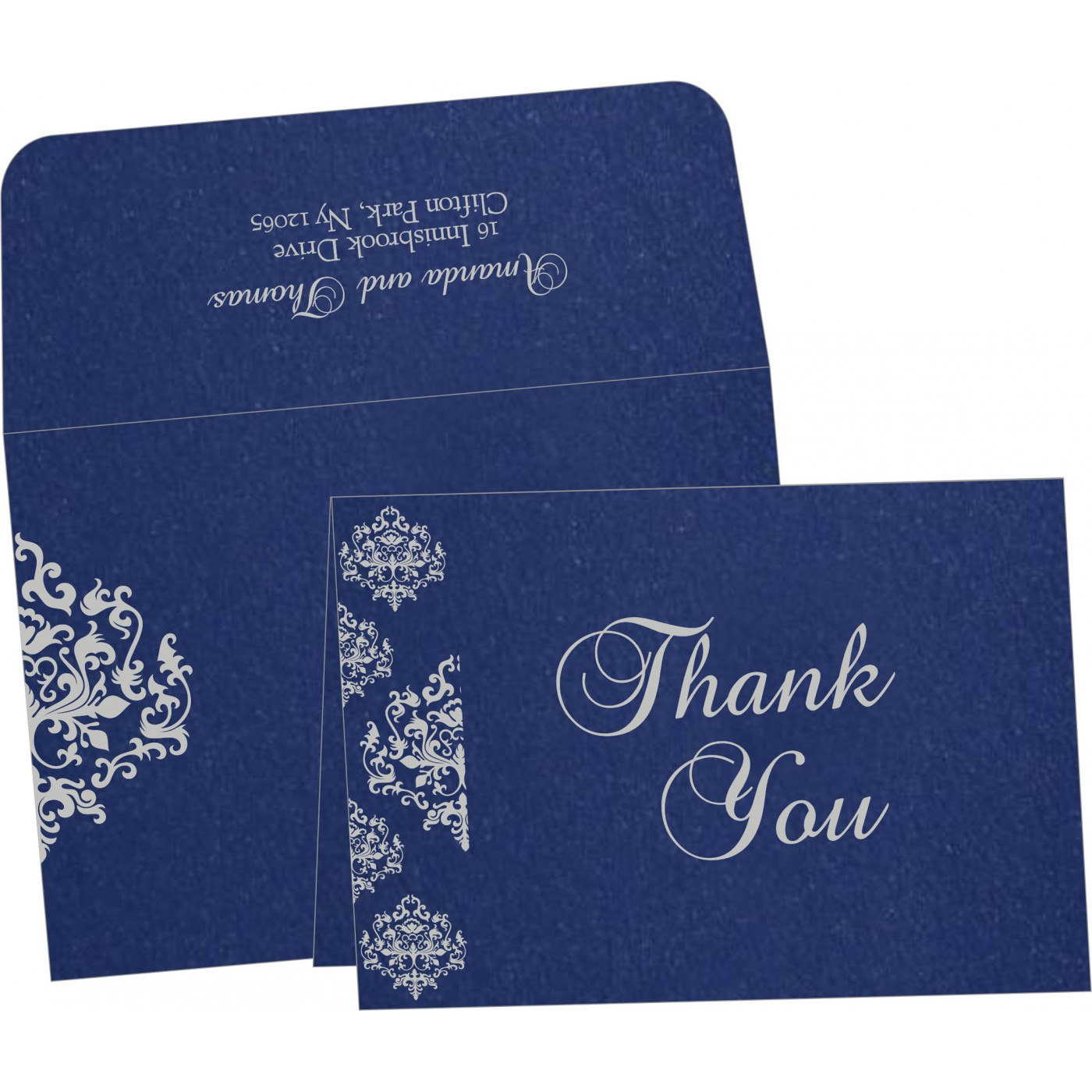 Thank You Cards : TYC-8254C - 123WeddingCards