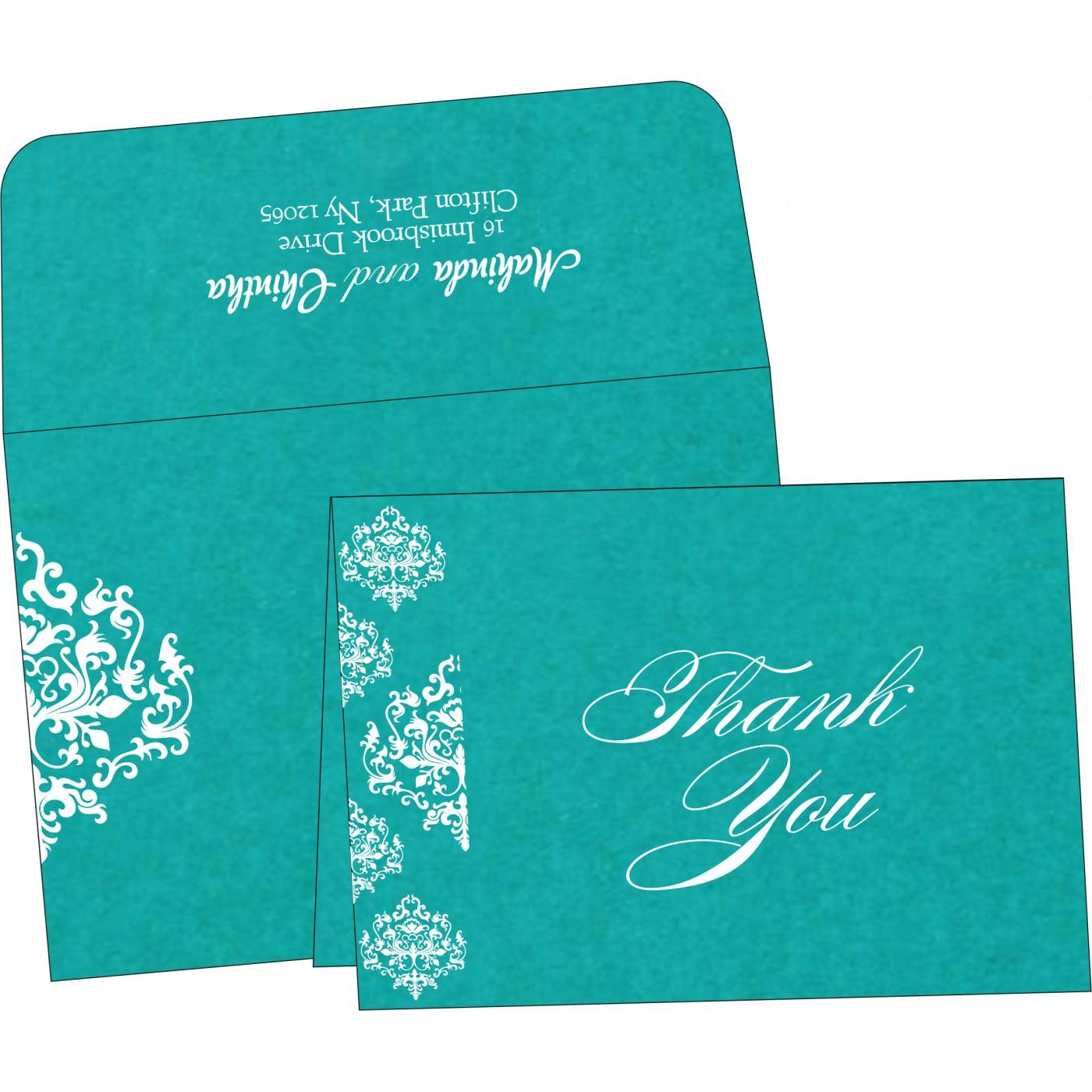 Thank You Cards : TYC-8254E - 123WeddingCards