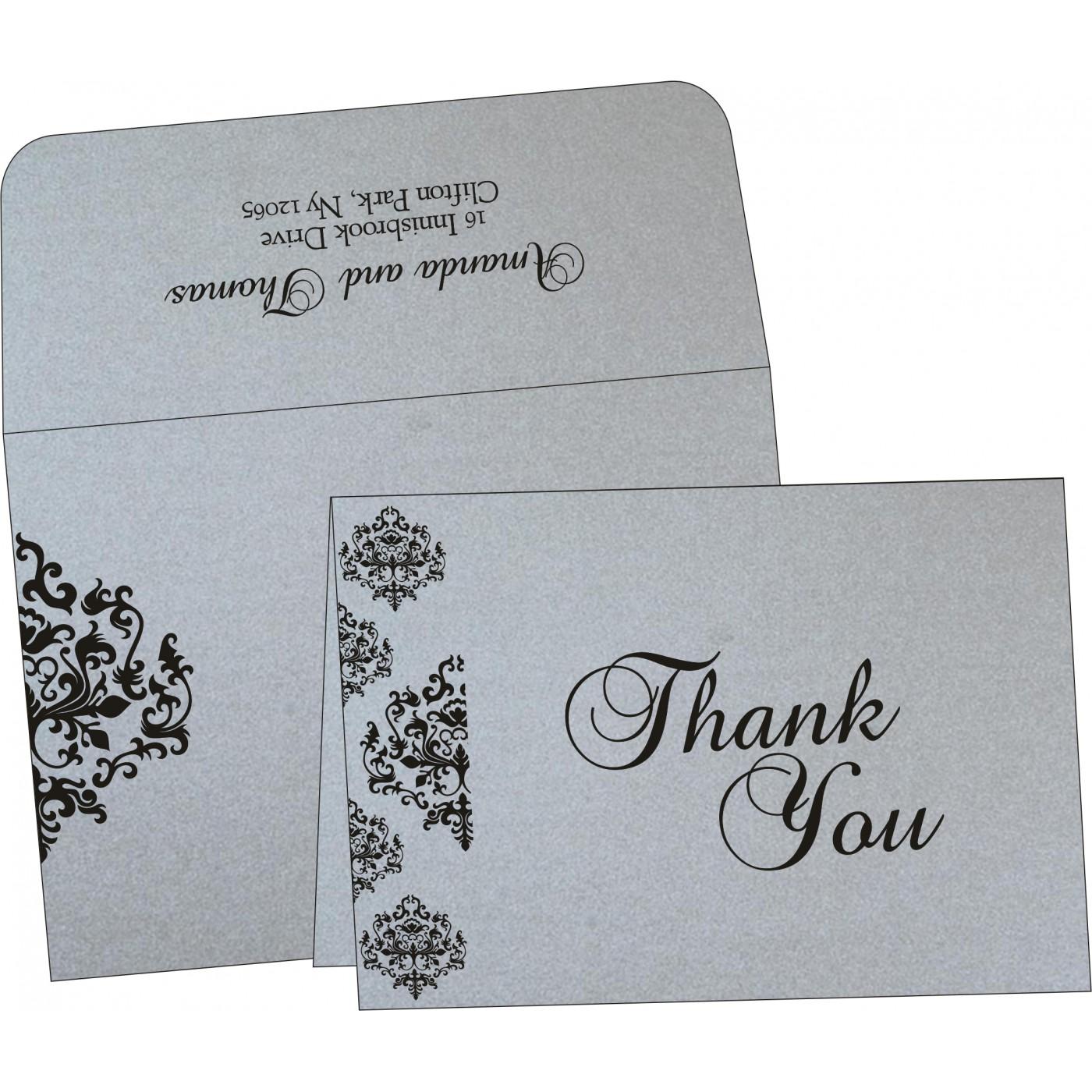 Thank You Cards : TYC-8254H - 123WeddingCards