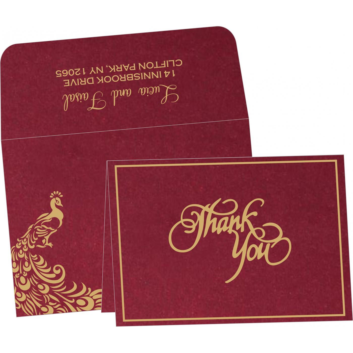 Thank You Cards : TYC-8255A - 123WeddingCards