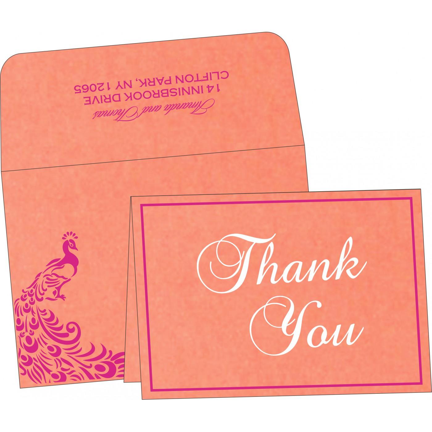 Thank You Cards : TYC-8255B - 123WeddingCards