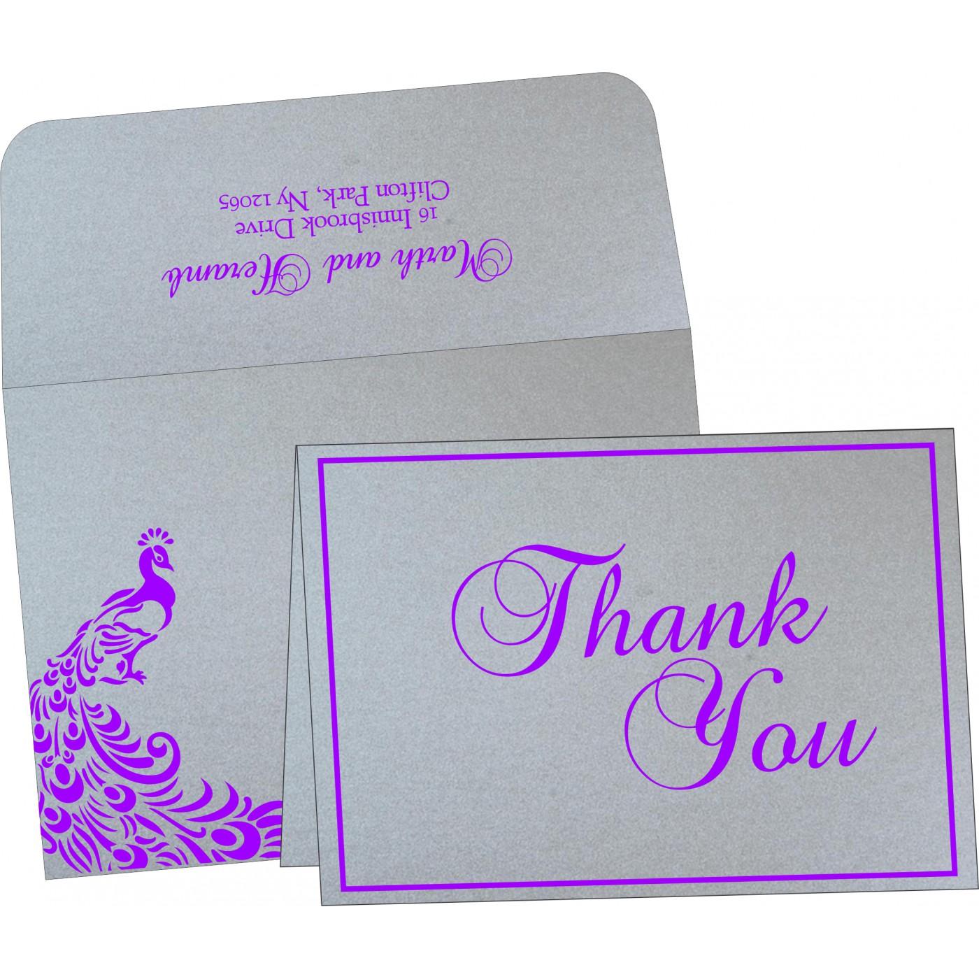 Thank You Cards : TYC-8255C - 123WeddingCards