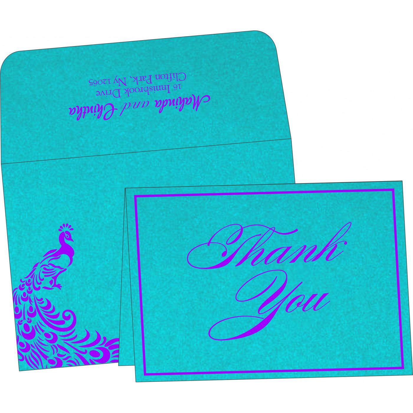 Thank You Cards : TYC-8255E - 123WeddingCards