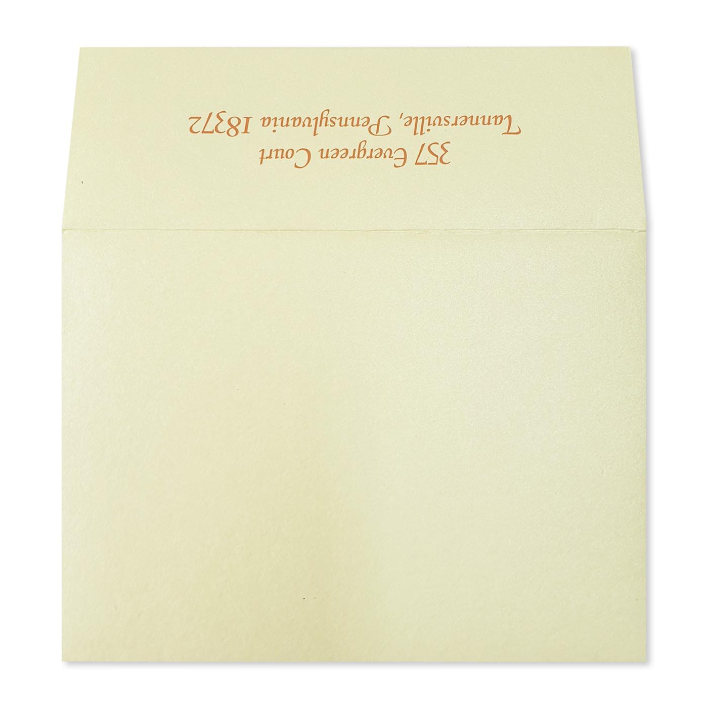 Thank You Cards : TYC-ATOMIC_TANGERINE - 123WeddingCards