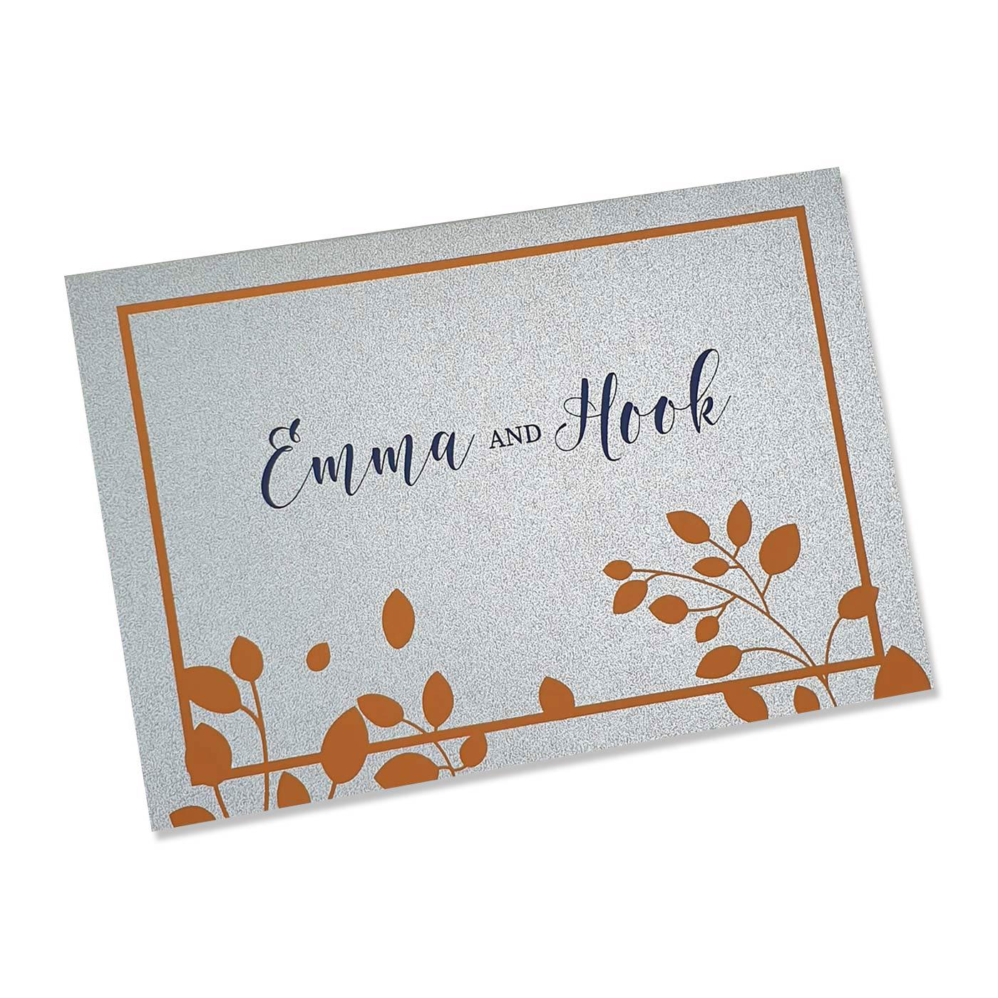 Thank You Cards : TYC-BOTANICAL - 123WeddingCards