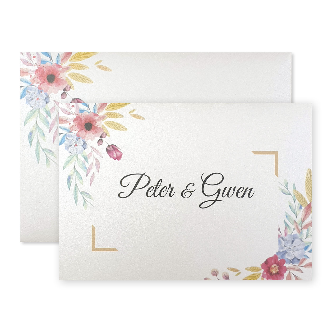 Thank You Cards : TYC-BOUQUET - 123WeddingCards