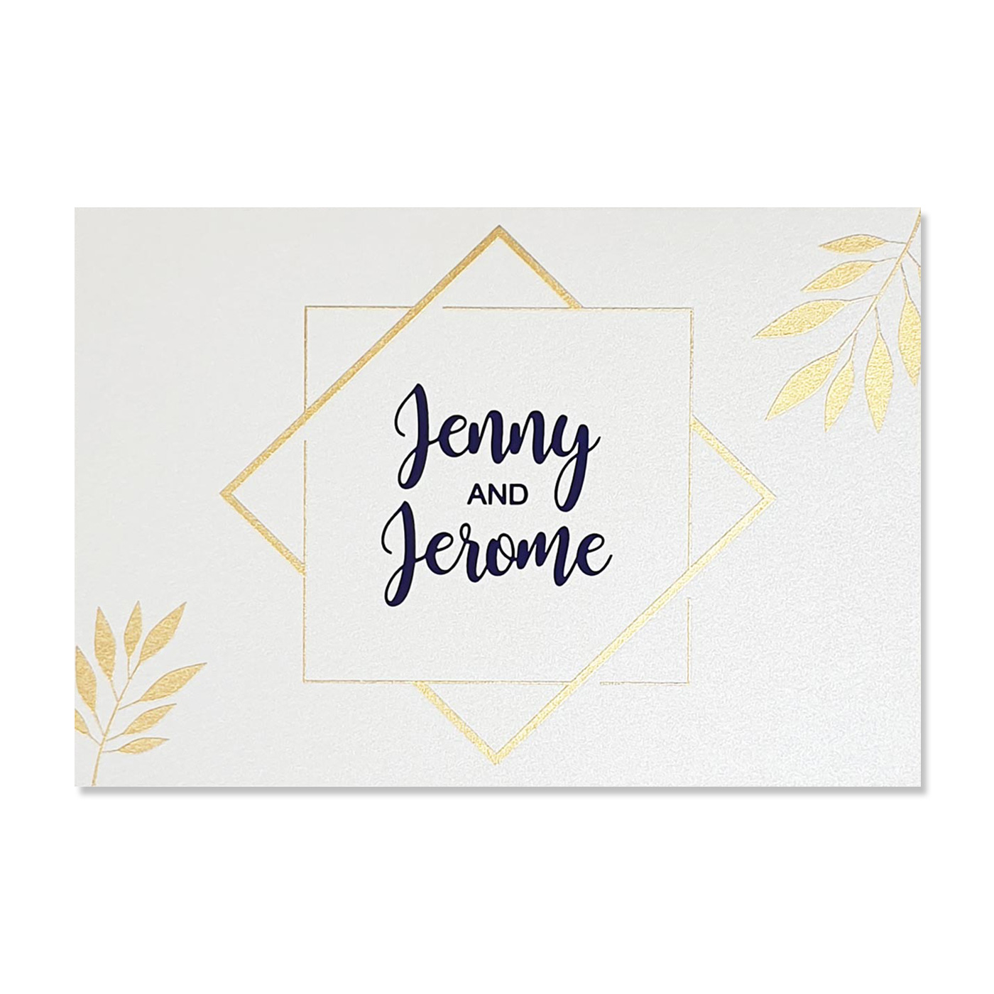 Thank You Cards : TYC-COBALT - 123WeddingCards