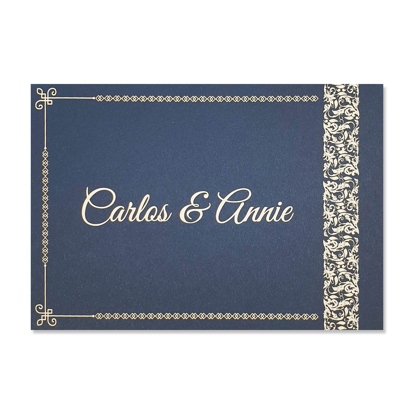 Thank You Cards : TYC-ETCHED - 123WeddingCards