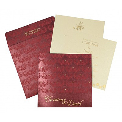 Christian Wedding Invitations - C-8258C
