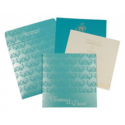 Christian Wedding Invitations - C-8258D