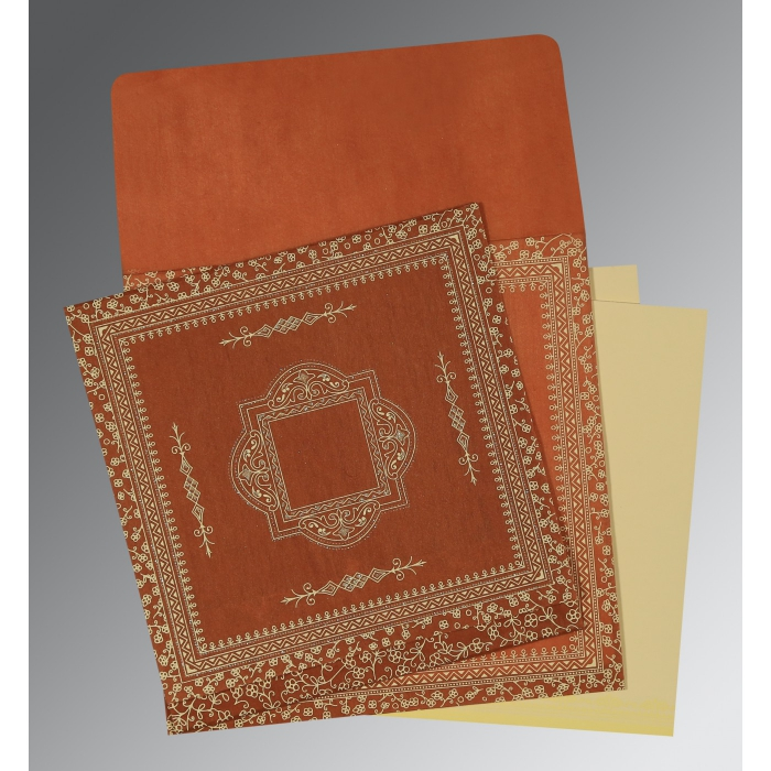 Designer Wedding Cards - D-1050