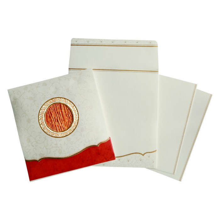 Designer Wedding Cards - D-1171