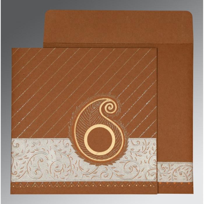 Designer Wedding Cards - D-1178