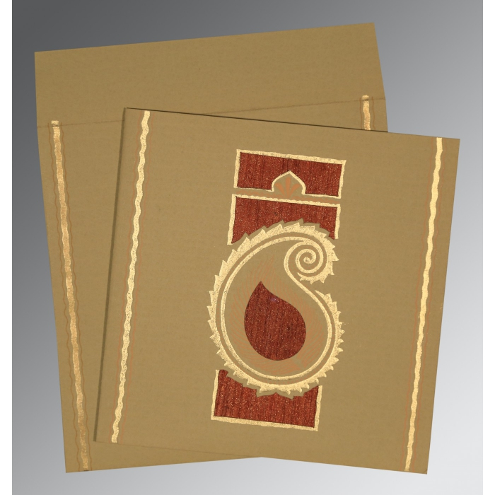 Designer Wedding Cards - D-1187