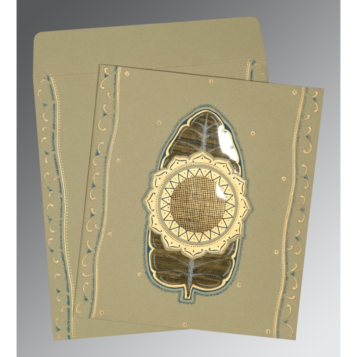 Designer Wedding Cards - D-1194