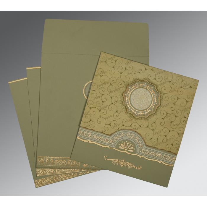 Designer Wedding Cards - D-1263