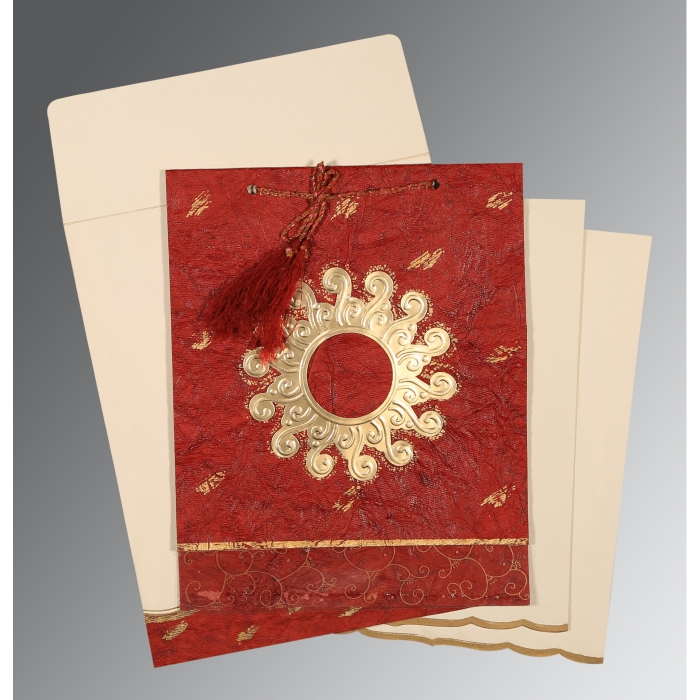 Designer Wedding Cards - D-1264