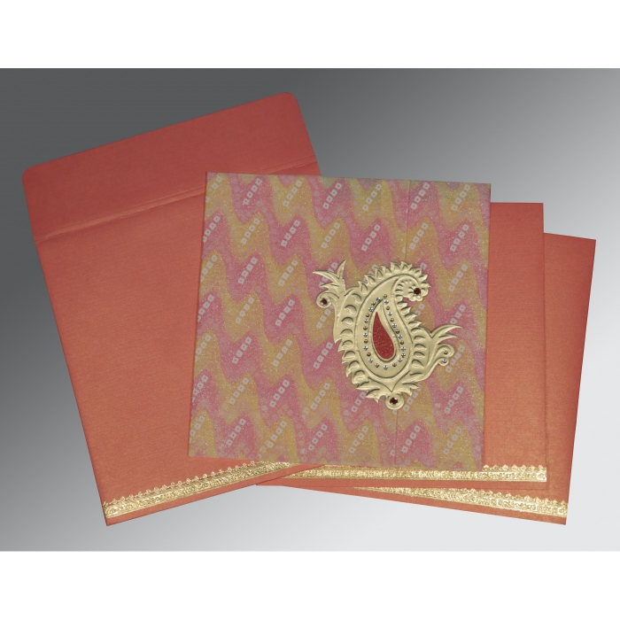 Designer Wedding Cards - D-1324