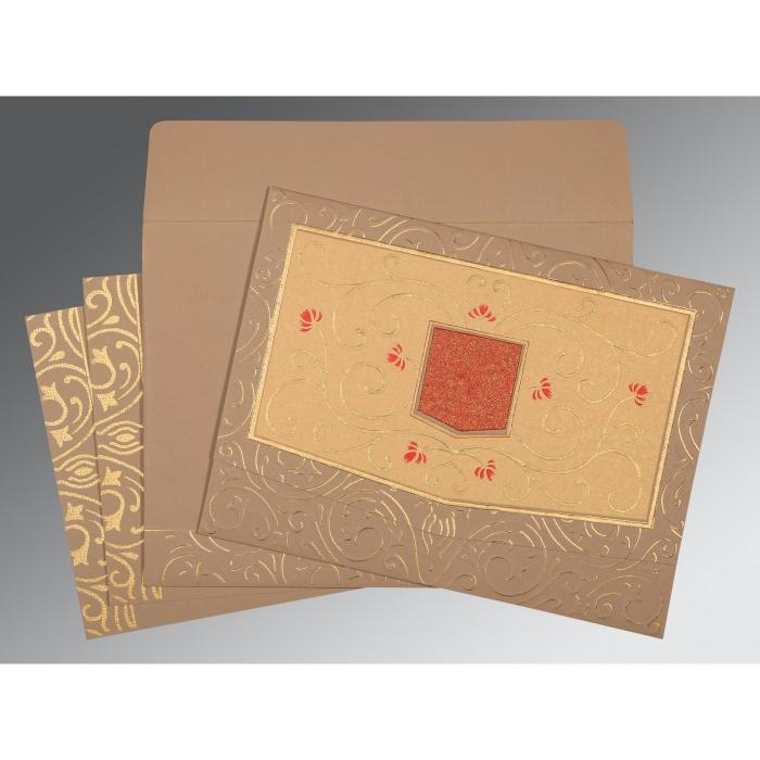 Designer Wedding Cards - D-1394