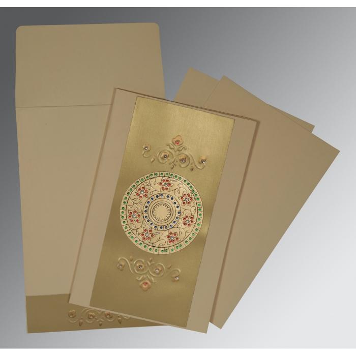 Designer Wedding Cards - D-1407
