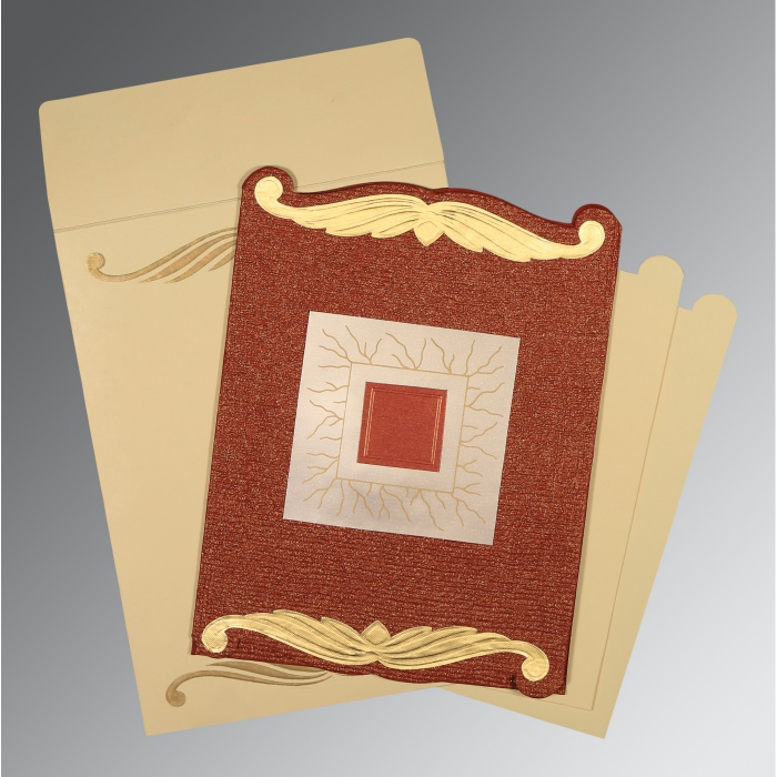 Designer Wedding Cards - D-1412