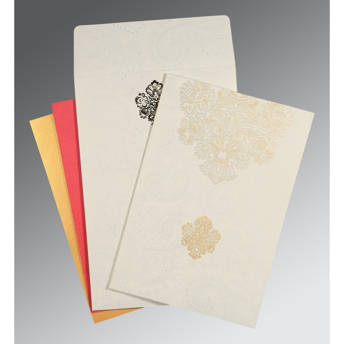 Designer Wedding Cards - D-1508