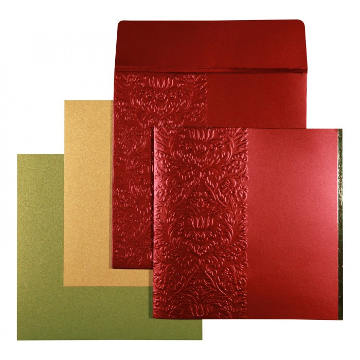 Designer Wedding Cards - D-1518